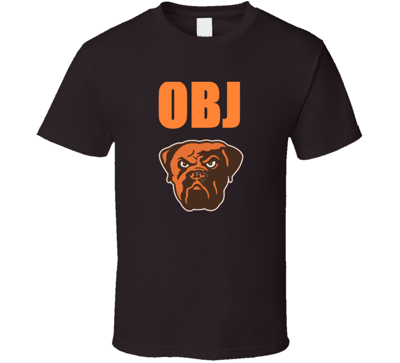 Obj Odell Beckham Jr. Cleveland Football T Shirt