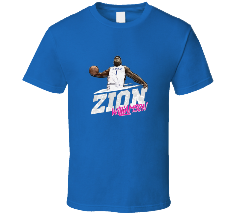 Zion Williamson College Basketball Star March Madness T Shirt