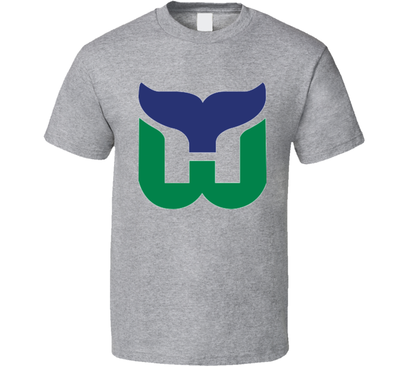 Hartford Whalers Defunct Retro Vintage Hockey T Shirt