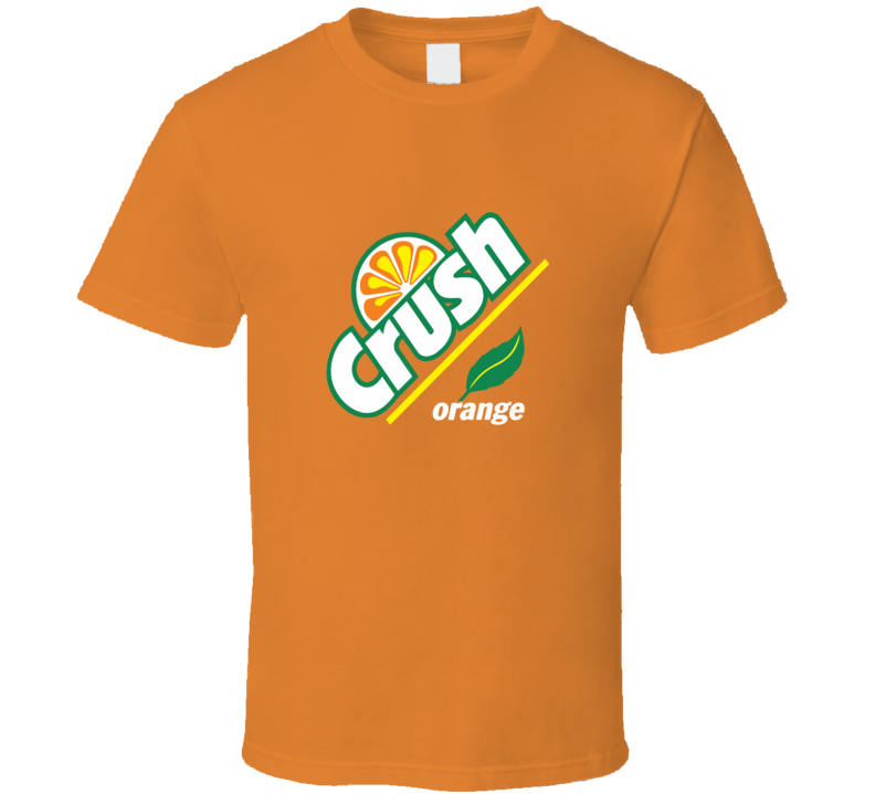 Crush Orange Soda Pop Drink T Shirt