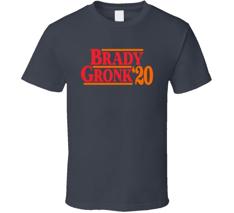 Brady Gronk 2020 Tampa Bay Football Fan Cool T Shirt