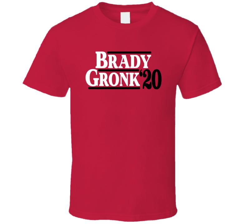 Brady Gronk 2020 Tampa Bay Football T Shirt
