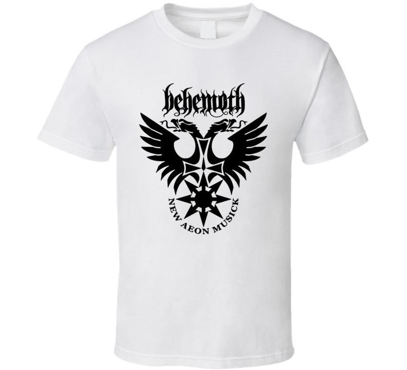 Behemoth Heavy Metal Rock Band Logo T Shirt