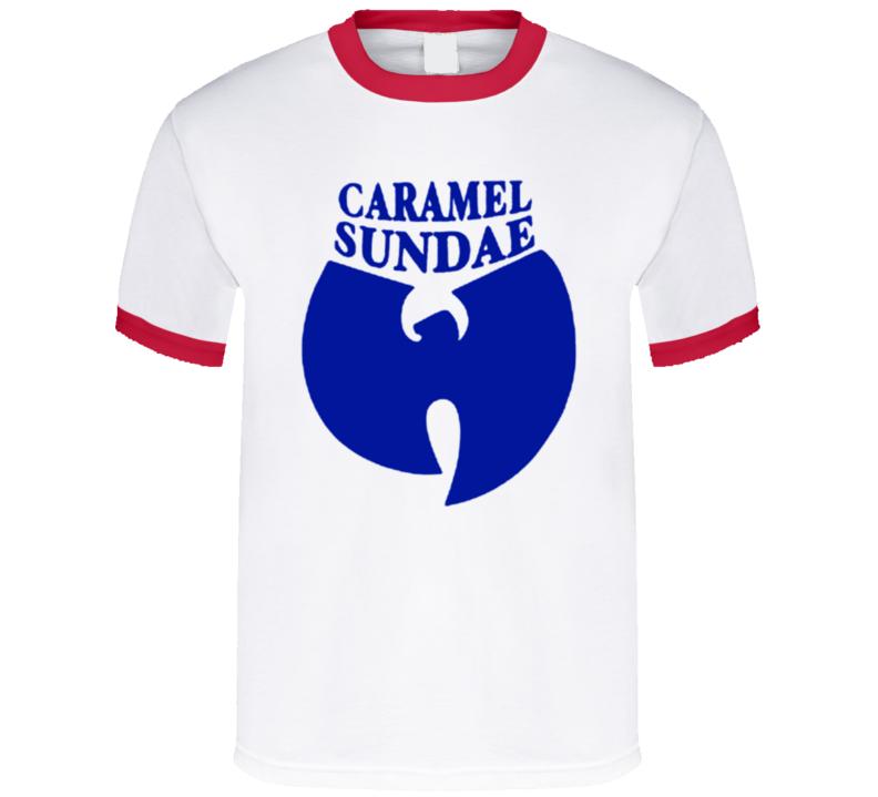 Wutang Caramel Sundae Hip Hop Song Music Video T Shirt