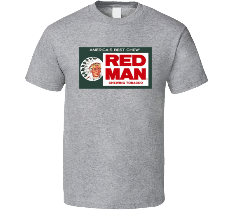 Red Man Chewing Tobacco American T Shirt