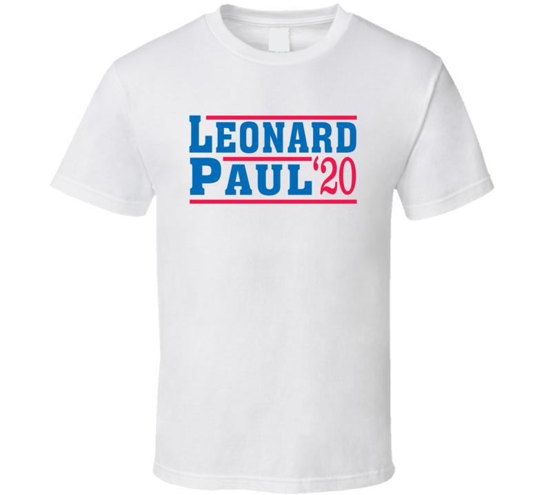 Kawhi Leonard Paul George 2020 Election Style Los Angeles Basketball Fan T Shirt
