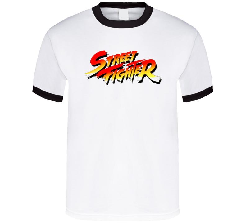 Street Fighter Original Retro Vintage Video Gamer T Shirt