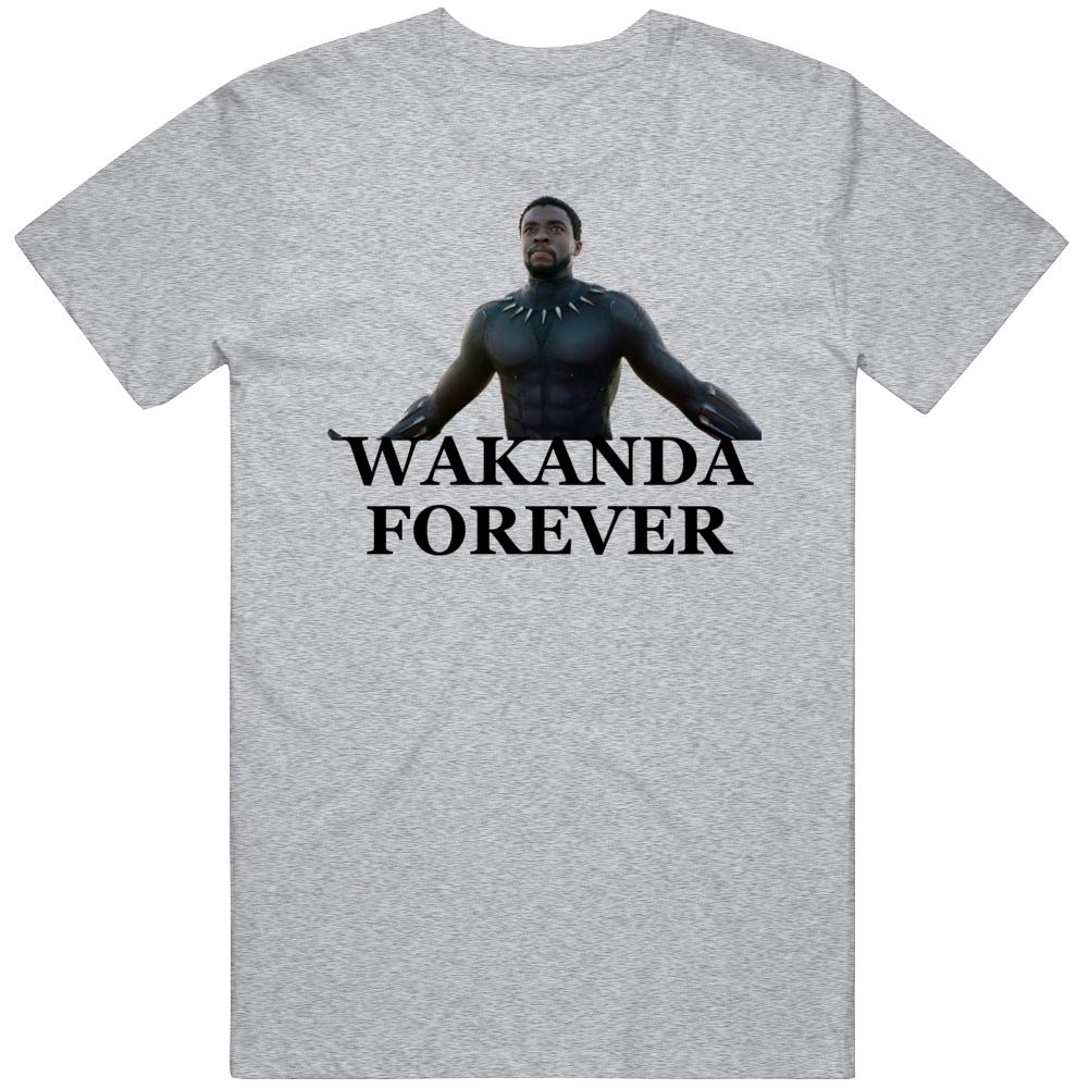 Chadwick Boseman Wakanda Forever T Shirt