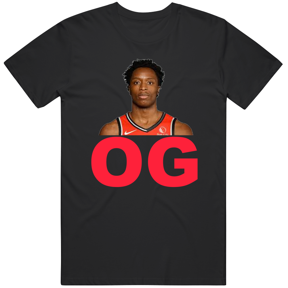 Og Anunoby Profile Toronto Basketball Fan T Shirt