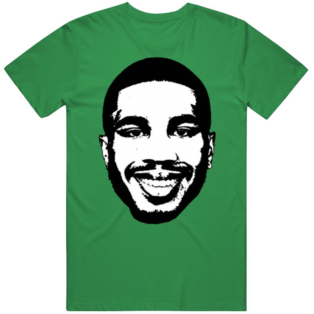 Jayson Tatum Boston Basketball Big Head T Shirt