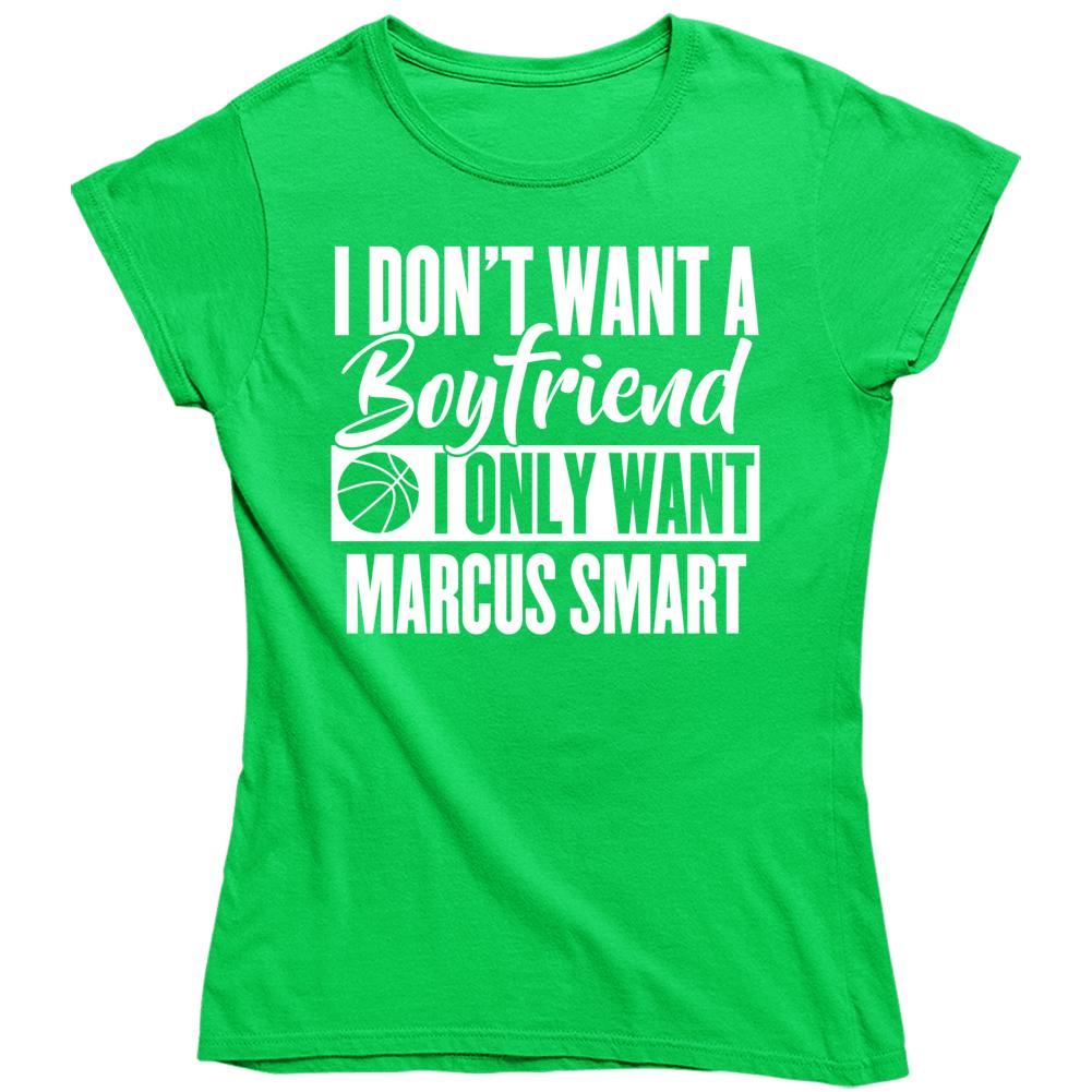 Marcus Smart Ladies Boyfriend Bostob Basketball Fan Ladies T Shirt