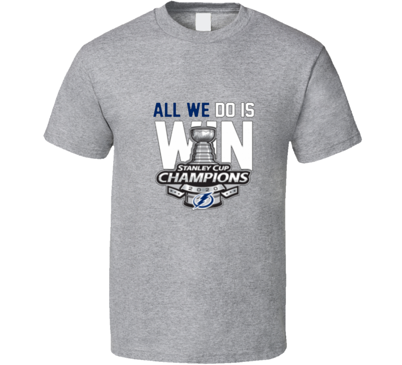 Tampa Bay 2020 Champions Hockey T Shirt