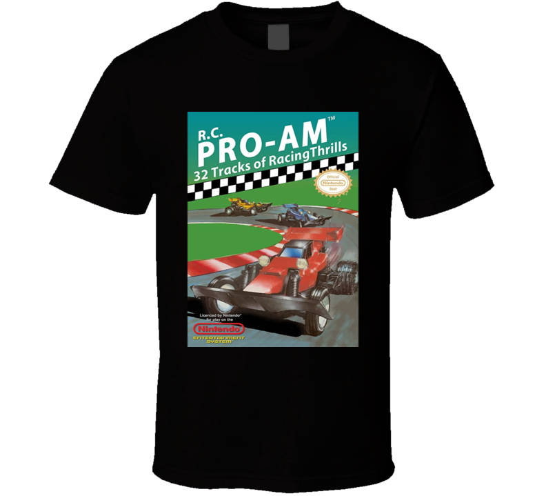 Rc Pro Am Nes Racing Retro Video Game T Shirt