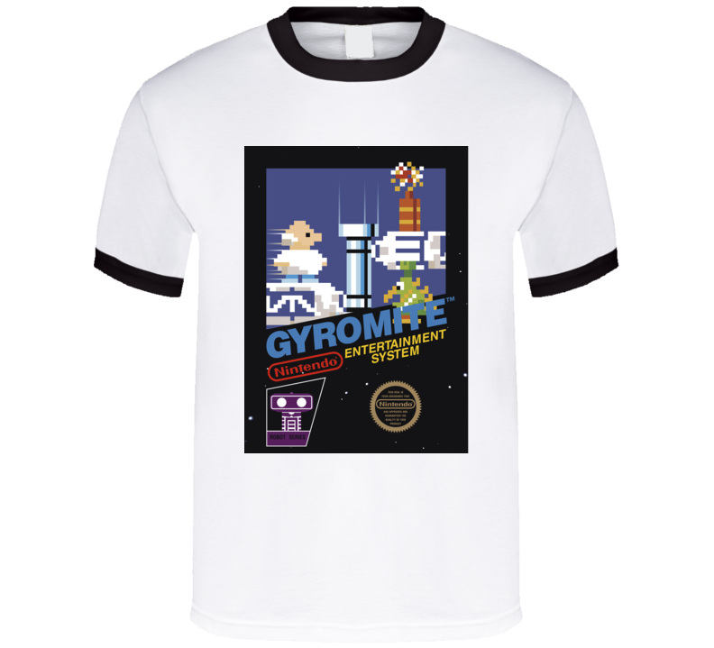 Gyromite Nes Retro Video Game T Shirt