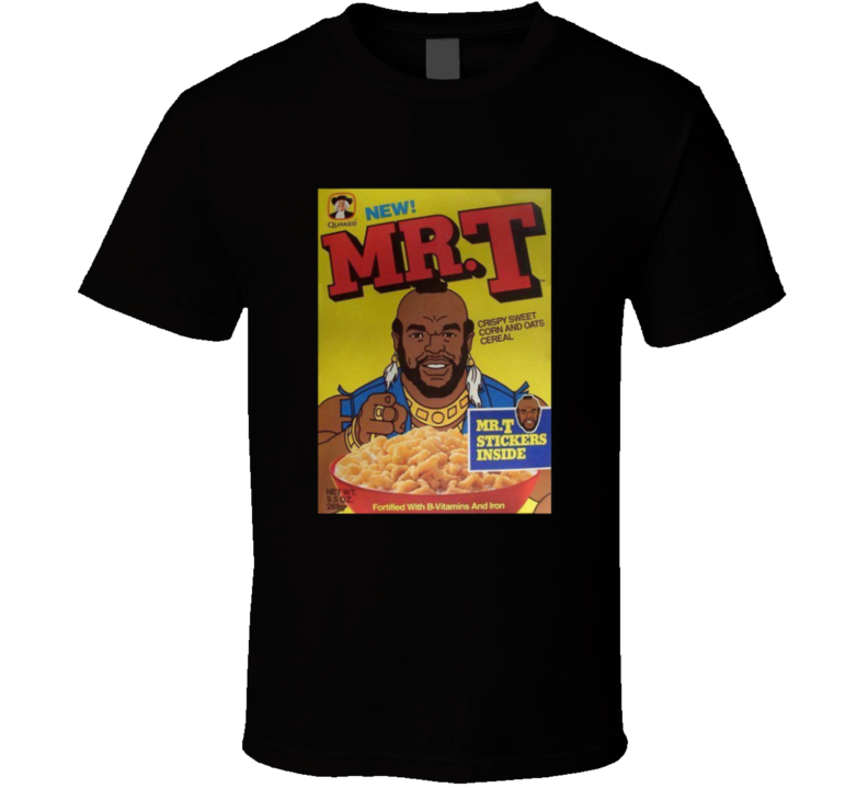 Mr. T Quaker Cereal T Shirt