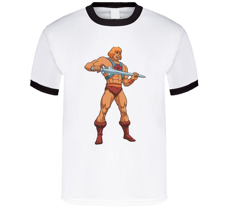 He Man Cartoon Tv Show T Shirt