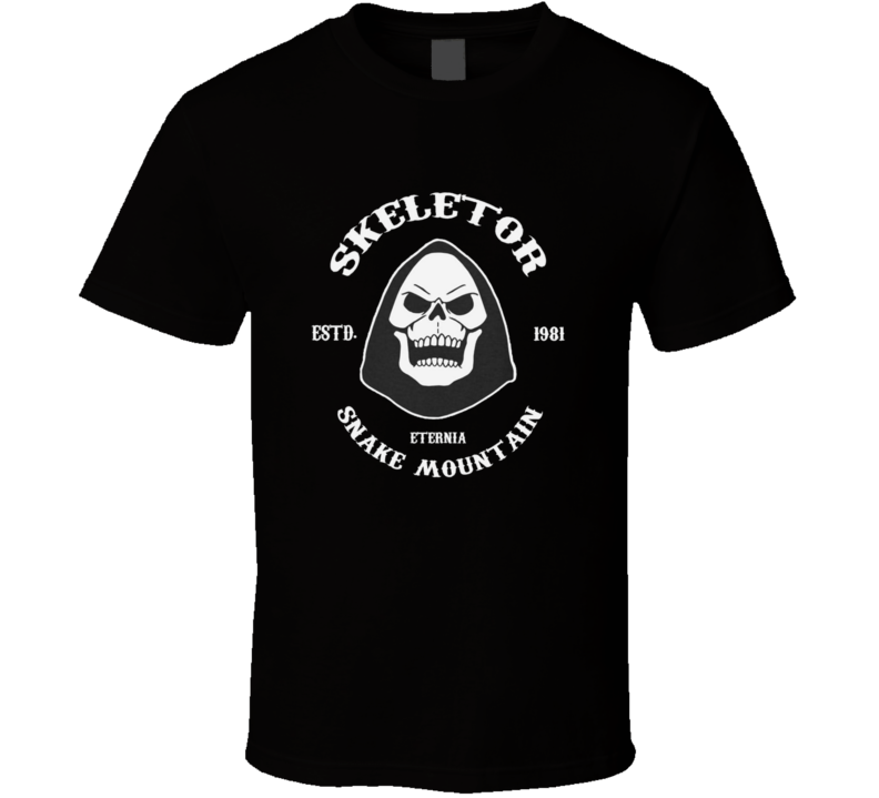 Skeletor He Man Cartoon Tv Show Fan T Shirt