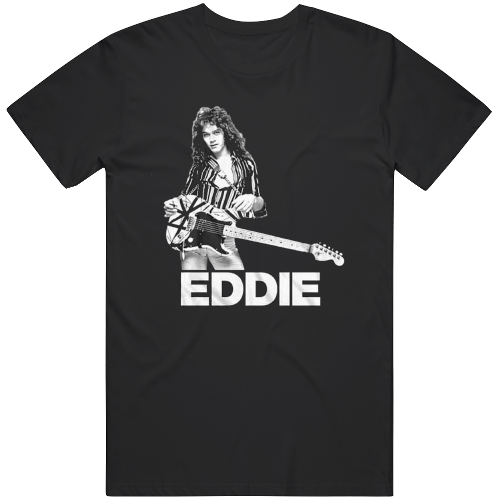 Eddie Van Legend Rock Band T Shirt