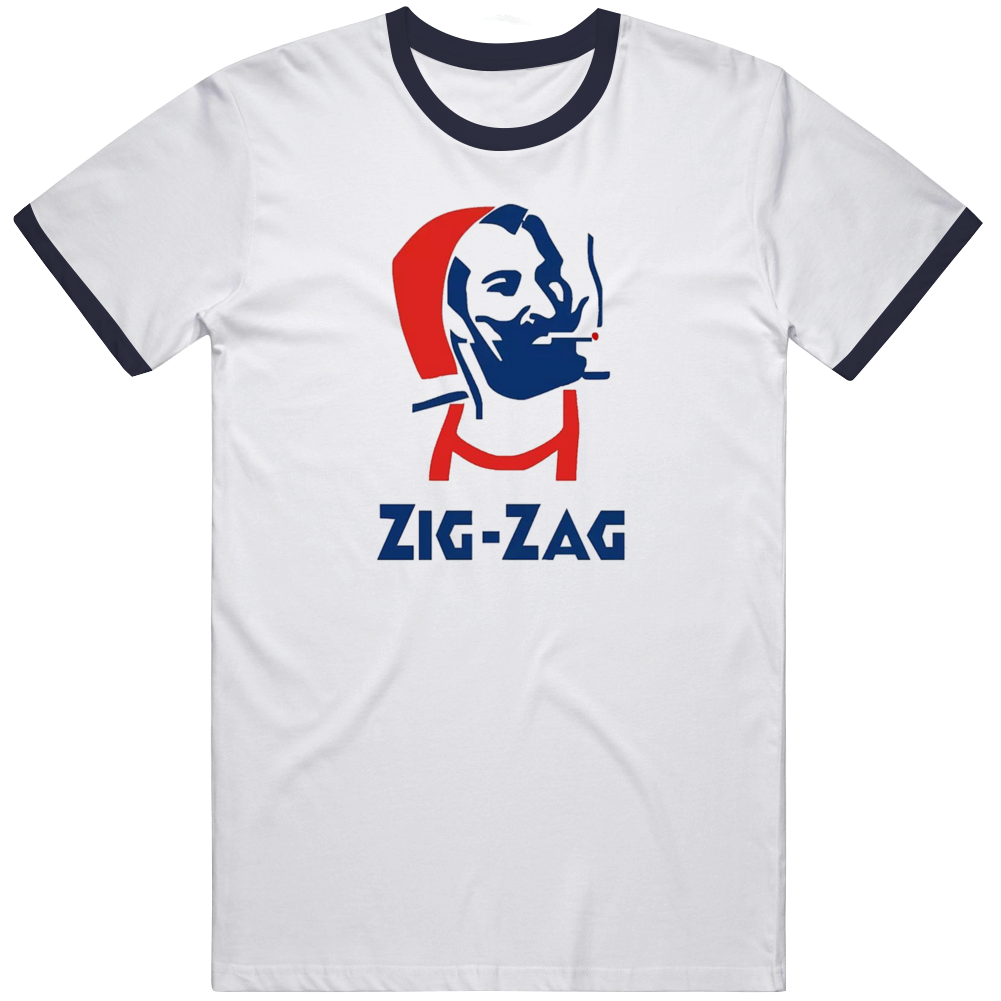 Zig Zag Rolling Papers Tobacco Marijuana T Shirt