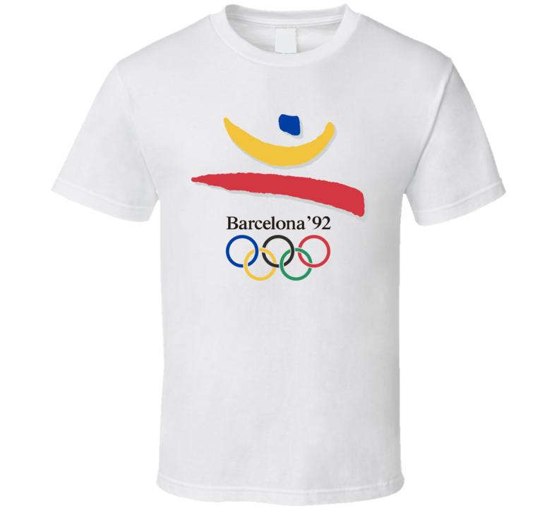Barcelona 1992 Summer Olympics T Shirt