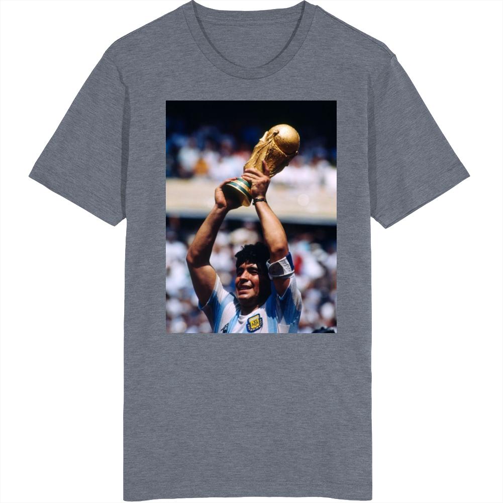 Diego Maradona World Cup Tribute Argentina Fan T Shirt