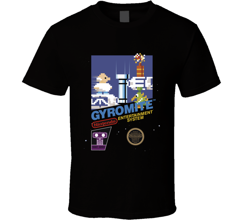 Gyromite Nes Retro Vintage Classic Video Game T Shirt