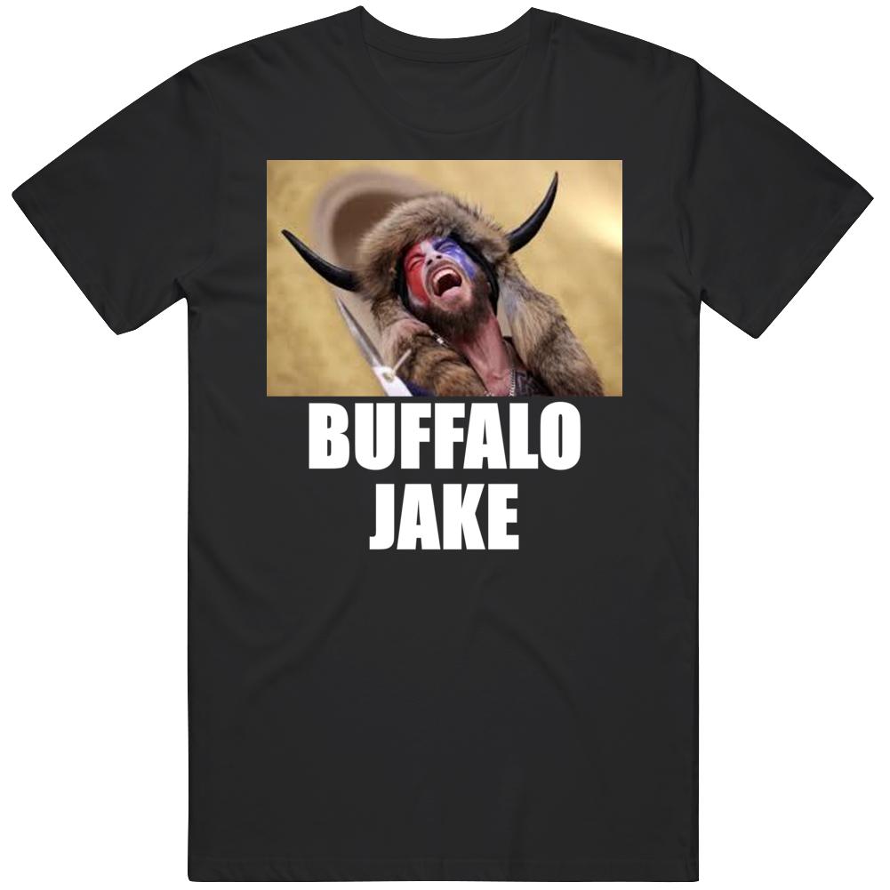 Buffalo Jake Frontiersman Capitol Hill Protestor Maga T Shirt