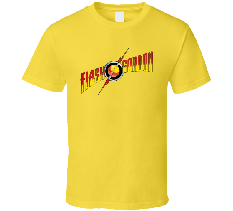 Flash Gordon Comic Classic Logo T Shirt