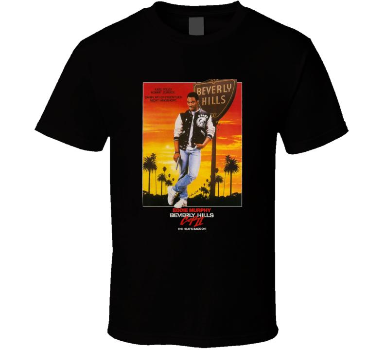 Retro Classic Beverly Hils Cop 2 Movie T Shirt