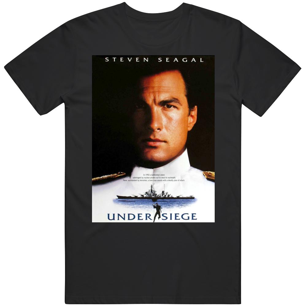 Steven Segal Undersiege Classic Retro Action Movie T Shirt