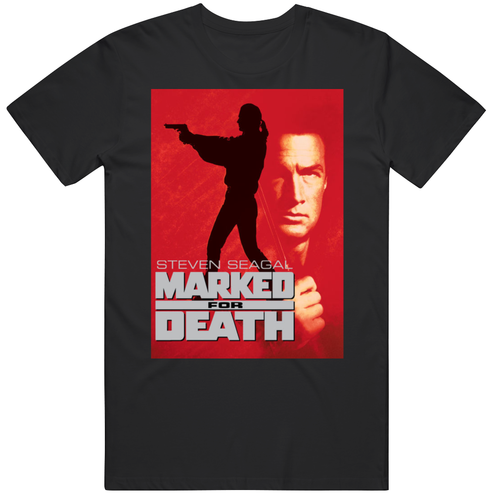 Marked For Death Classic Action Movie T Shirt