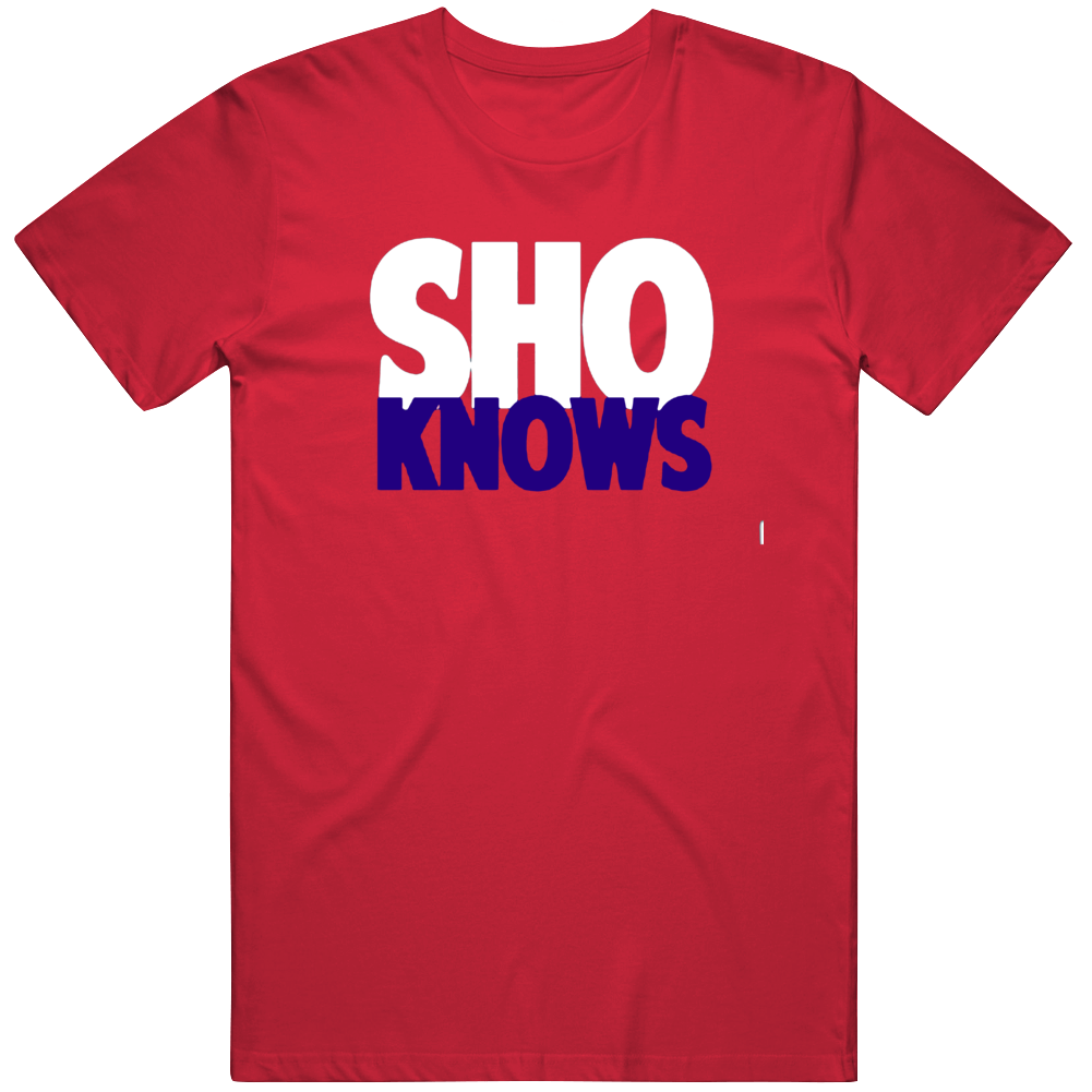 Sho Knows Ohtani Los Angeles Baseball Fan V2 T Shirt