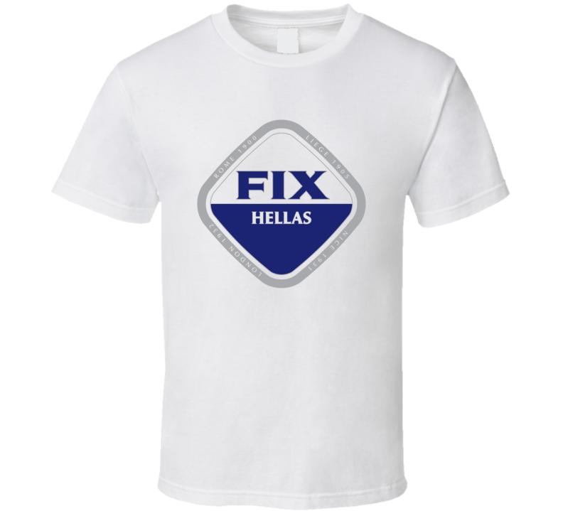Fix Hellas Greek Hellenic Brewery Beer T Shirt