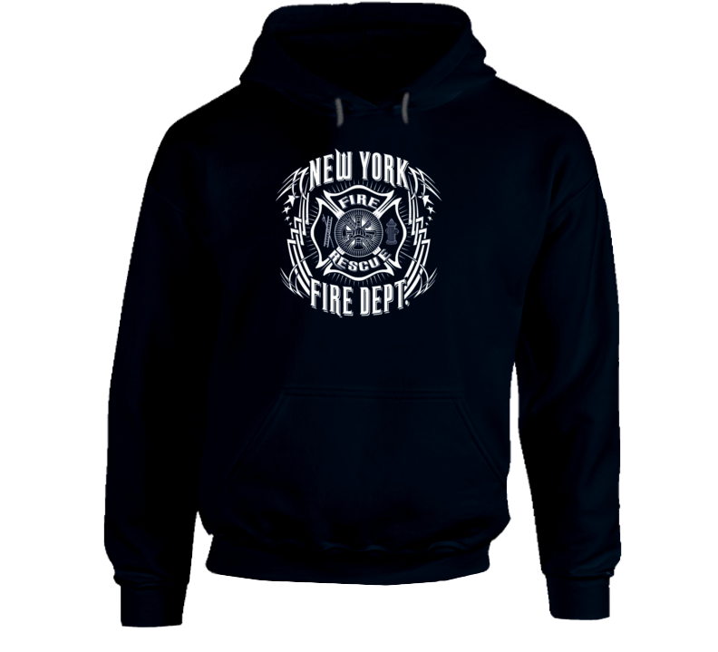 New York Fire Department FireFighter Tribal Sweatshirt Hoodie
