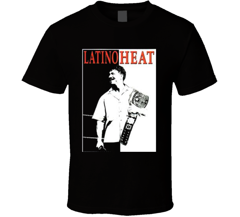 Eddi Guerrero Latino Heat Classic Vintage Wrestling T Shirt