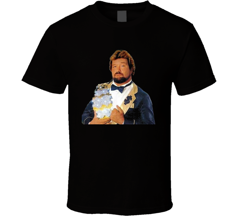 Ted Dibiase Million Dollar Man 80's Wrestling Retro T Shirt