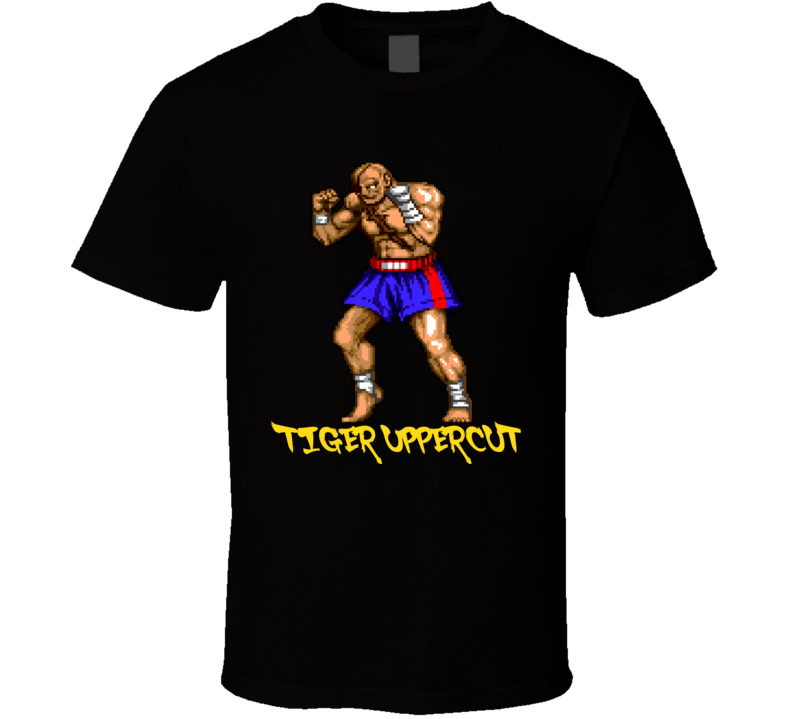 Sagat Street Fighter Video Game Classic T Shirt