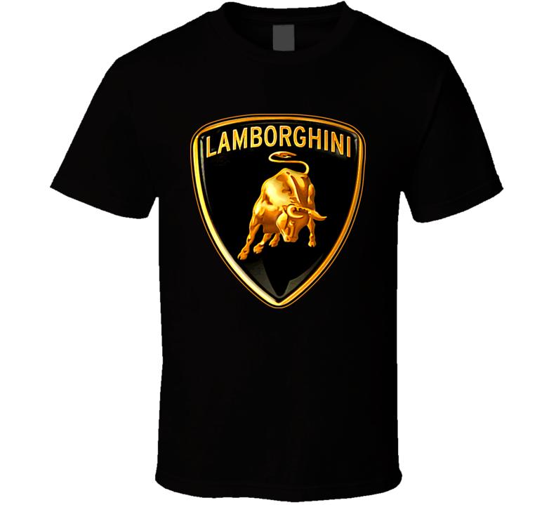 lamborghini car logo t shirt. Black Bedroom Furniture Sets. Home Design Ideas