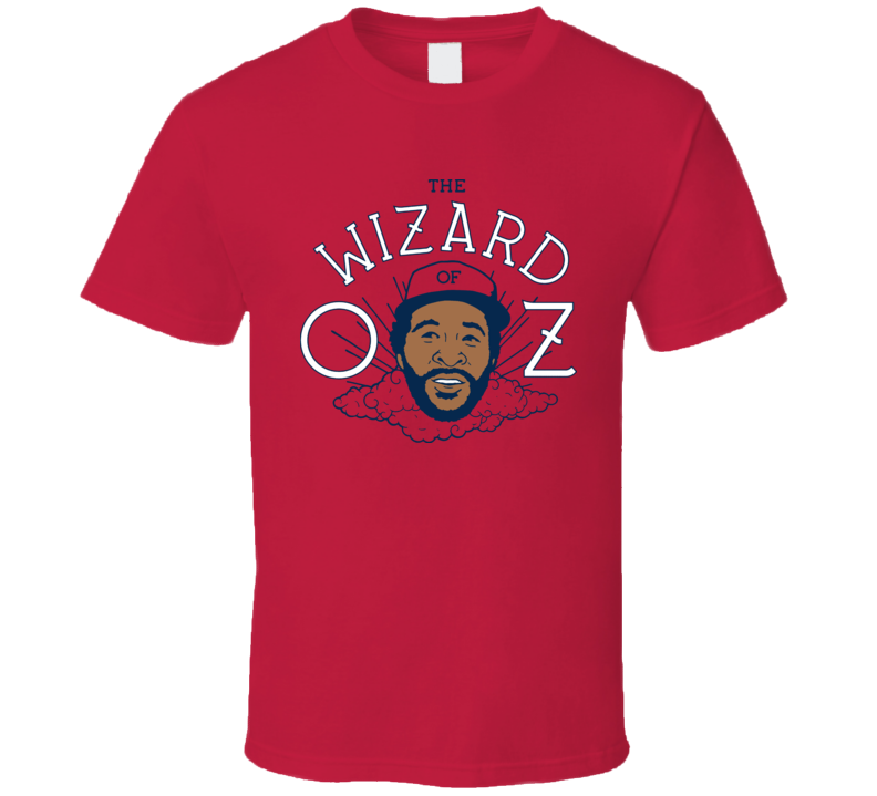 Ozzy Smith The Wizard Of Oz Vintage Baseball T Shirt