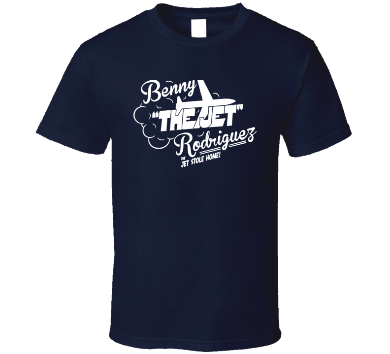 Benny The Jet Rodriguez Sandlot Cool Vintage Baseball T Shirt