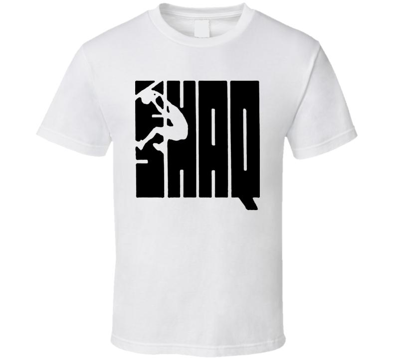 Shaq Attack Jordan Style Logo T Shirt