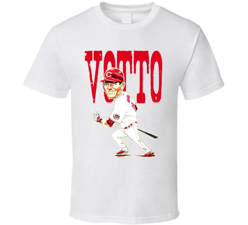 Joey Votto Cincinnati Baseball Caricature T Shirt