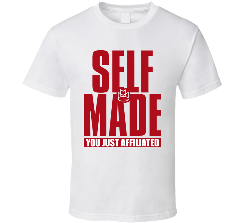 Self Made Rick Ross Maybach Affiliated Rap T Shirt