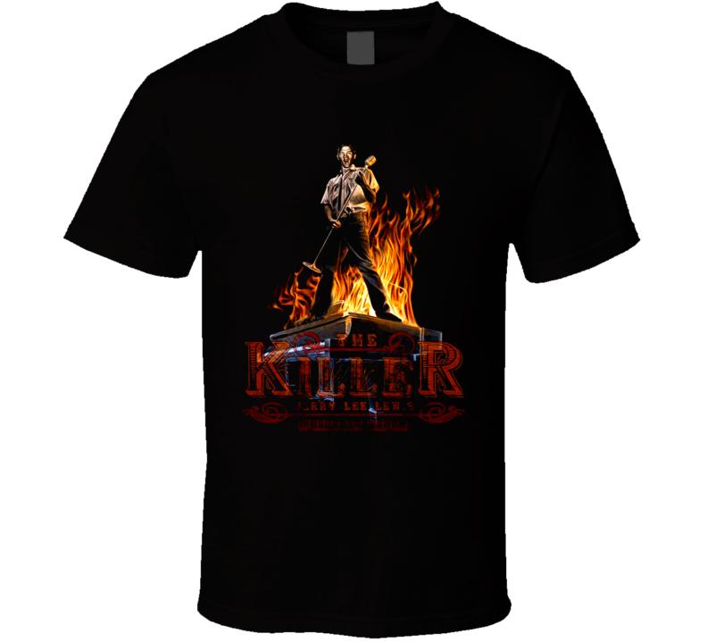 Jerry Lee Lewis Killer Musician Pianist Music T Shirt
