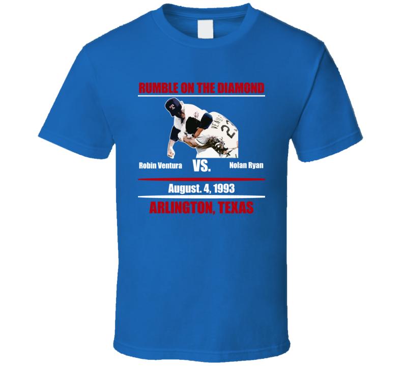 Nolan Ryan Texas Baseball Fight Pitcher Cool Vintage T Shirt
