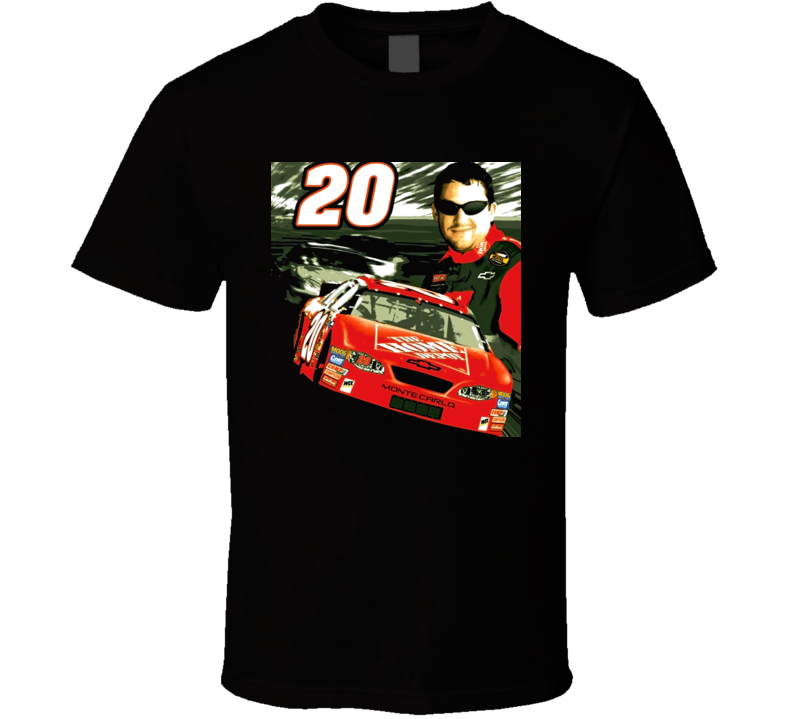 Tony Stewart Car Racing T Shirt