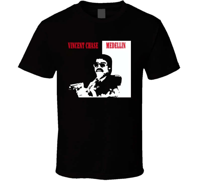 Medellin Entourage Crime Classic T Shirt