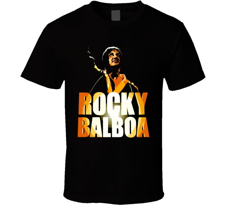 Rocky Balboa Boxing Champ Classic T Shirt
