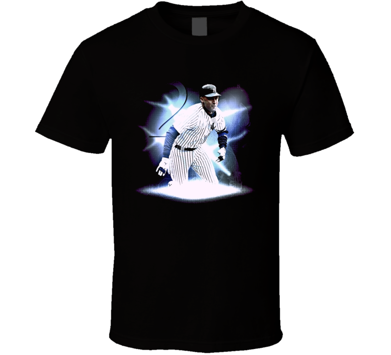 Derek Jeter Yankee Baseball T Shirt