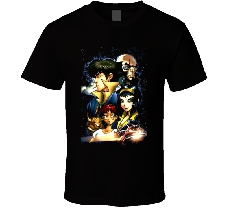 Cowboy Beebop Manga Cartoon T Shirt